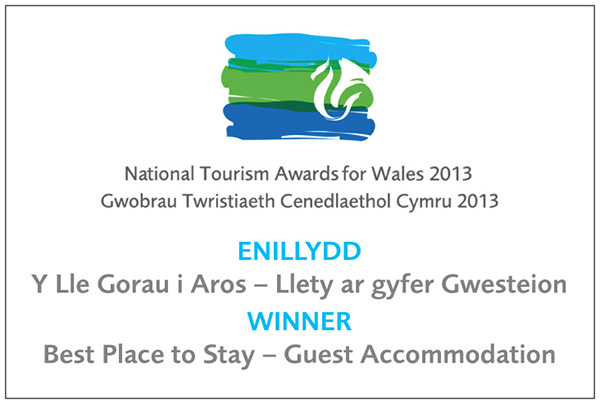 national tourism awards for wales